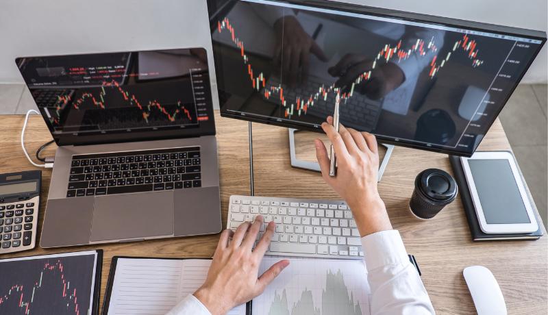 mercado financeiro trader